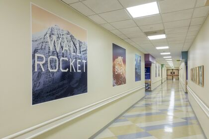 Ed Ruscha at Children's Hospital Los Angeles