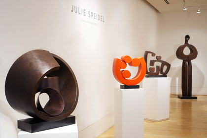 Open Boundaries | Recent Sculptures by Julie Speidel