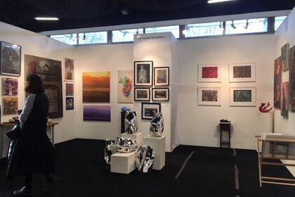 Affordable Art Fair, Hampstead London