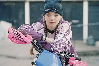 Spencer Murphy Urban Dirt Bikers
