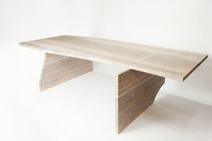 Studio Anne Holtrop - A table, a lamp and a door handle