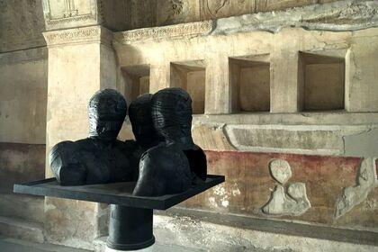 Mitoraj in Pompeii
