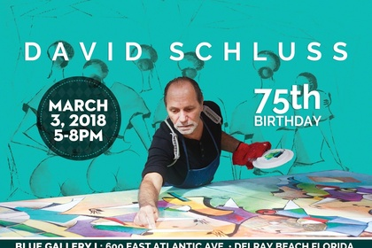 David Schluss Art Exhibition • Celebrating 75 years of magical creations.