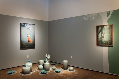 The Walls Became the World All Around: New Work Rebekah Bogard and Susan McDonnell