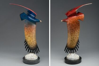 Vernal Equinox - Distinguished Sculpture by Rebecca Tobey