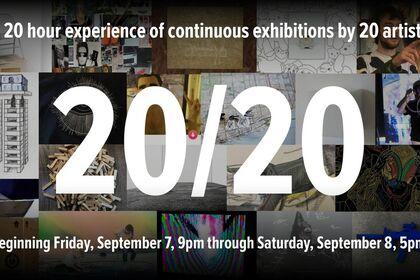 20/20: twenty artists/twenty hours