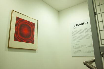 Victor Vasarely: 51 Steps, an upward exhibition