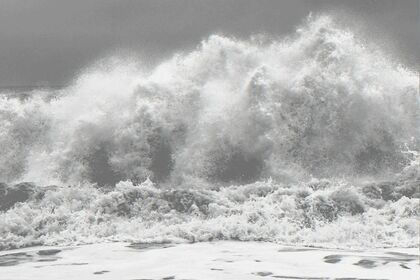 Clifford Ross: Hurricane Waves