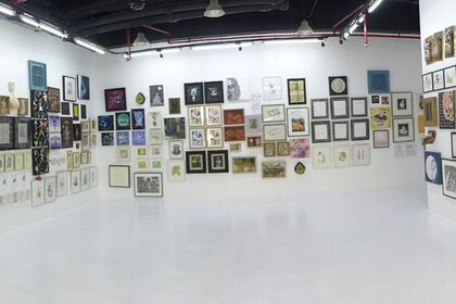 Time Lapse: an evolving exhibition of small works