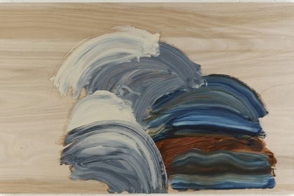 Howard Hodgkin: Arriving, in the orangery