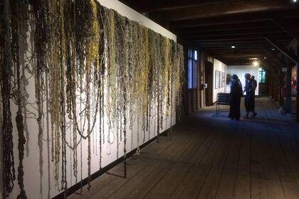 Kunstverket Hovedøya Galleri - Arbeider fra annen etasje