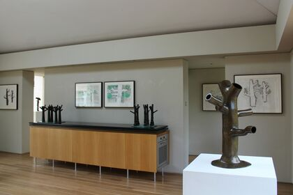Kenneth Armitage: The Richmond Oaks: Sculpture, collage and drawing in the Artists House