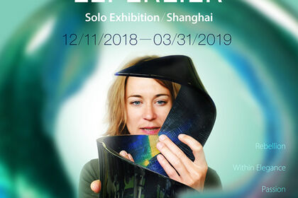 Juliette Leperlier - Poetry in glass - solo exhibition in Shanghai