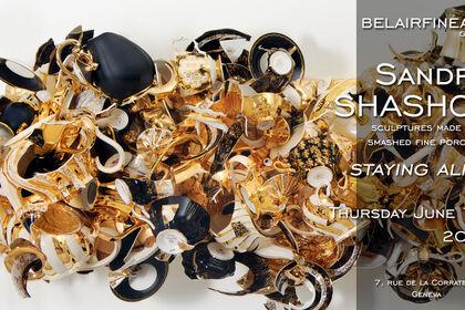 'Staying Alive' - Sandra Shashou