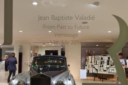 ROLLS ROYCE Motor Cars and BOCCARA ART present Jean-Baptiste VALADIE in MONACO