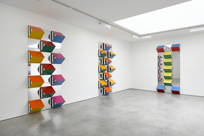 Daniel Buren- PILE UP: High Reliefs. Situated Works