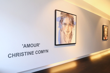 "Christine Comyn ""Amour"" Solo Show"