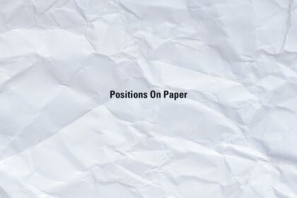 Positions On Paper
