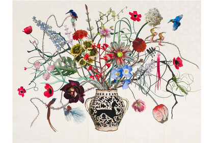 Jane Hammond, Natural Selection: New Botanical Collages