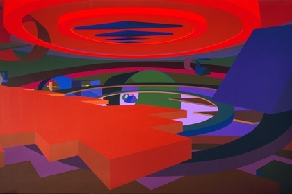 Al Held: Luminous Constructs | Paintings & Watercolors from the 1990s
