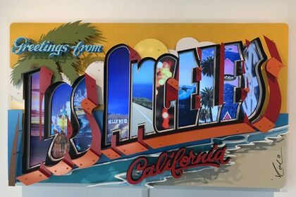 """Michael Kalish """"Greetings from Los Angeles"""""""
