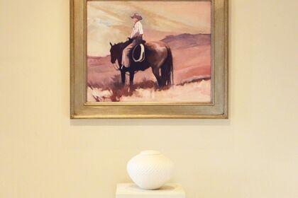 PEGGY JUDY: Artist & Horse–A Perfect Pair