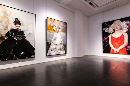 Lita Cabellut - Transformation / London