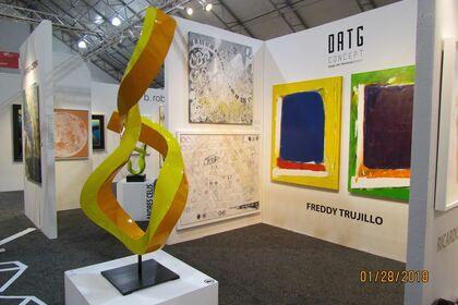 "Freddy Trujillo SOLO Exhibition ""Worlds"""