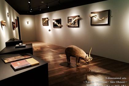 Three-dimensional arts – Takeshi Uchibayasi & Akio Ohmori –