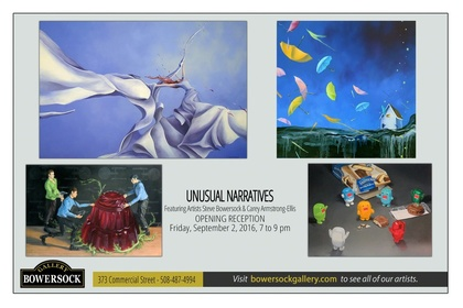 """""""Unusual Narratives"""" with Artists Carey Armstrong-Ellis and Steve Bowersock"""
