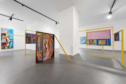 Chris Johanson: Imperfect Reality with Figures and Challenging Abstraction