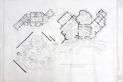 Mark Bennett: Dream Houses - The Blueprint Drawings 1992-2017