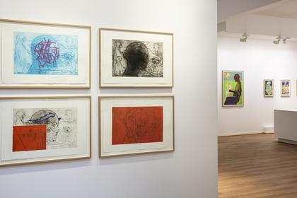Sverre Bjertnes - Nye grafiske arbeider