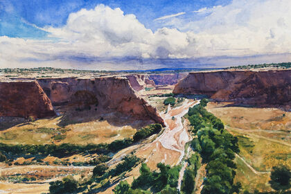 Bob Stuth-Wade: Painting in Earnest