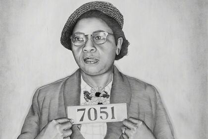 Lava Thomas / Mugshot Portraits: Women of the Montgomery Bus Boycott