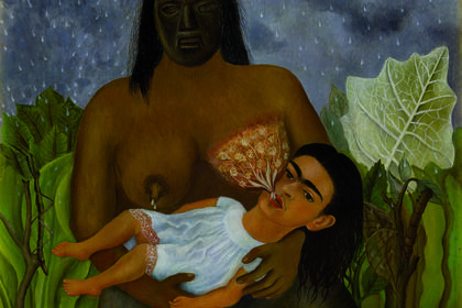 """Frida Kahlo. Paintings and drawings from Mexico's collections"""