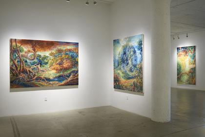 """Julie Heffernan, """"Waters Rise"""""""