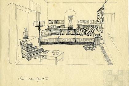"""The """"exhibited"""" house PIETRO ASCHIERI (1889-1952)"""