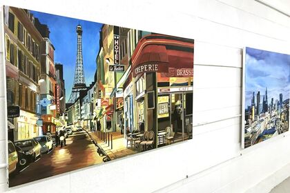 NEW YORK | LONDON | PARIS - Contemporary City Landscape Paintings