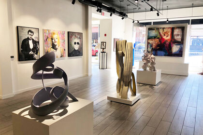 New Artists Group Show