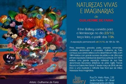 Naturezas Vivas e Imaginárias by Guilherme de Faria + Collection on Display