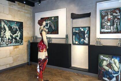 Personnal Exhibition of Nicolas Monjo