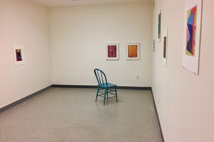 Transitions: Color + Space, Smaller Works by Warren Rosser