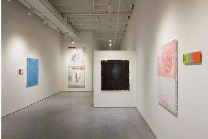 Bernd Haussmann- Being Time Place Paint
