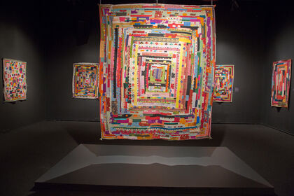 Soulful Stitching: Patchwork Quilts by Africans (Siddis) in India