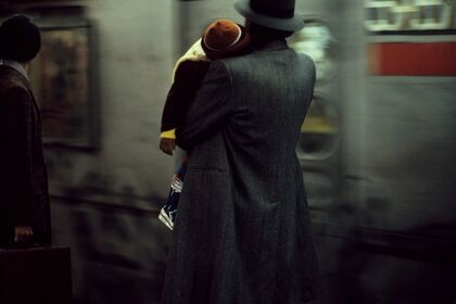 Eighties New York by Frank Horvat