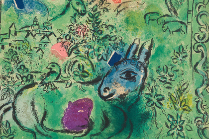 Marc Chagall: From the lithography to the stained-glass windows