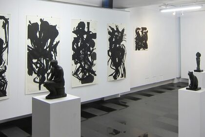 A Memorial Exhibition of Paintings by Chen, Hsing-Wan & Sculptors by Chen, Hsia-Yu