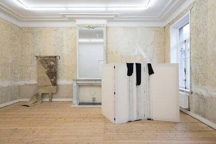 Latifa Echakhch and Miroslaw Balka - Dvir Gallery Brussels @ Micheline Szwajcer, Antwerp