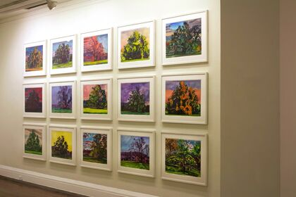 Graham Nickson: Cumulus, Monumental Trees and Transient Skies